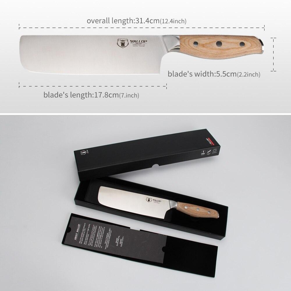 coup de poing chef couteau de cuisine couteau japonais boucher