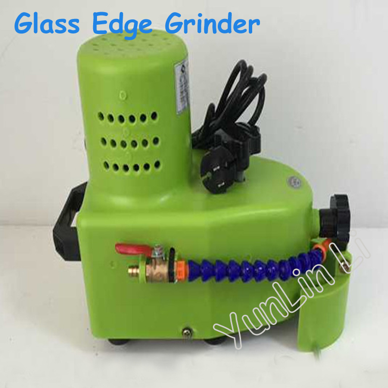 Portable Glass Edge Grinder 110V/220V Stone Grinding Machine Small Straight Edge, Round Edge, Hypotenuse Tile Edging Machine 4 6 inch diamond grinding wheel metal bond abrasive tools for glass round straight v edge glass shape edging machine m004