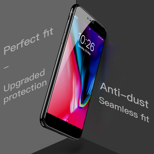 HOCO for Apple iPhone 7 8 PLUS 3D Tempered Glass Film 9H Screen Protector Protective Full Cover for Touch Screen Protection 3