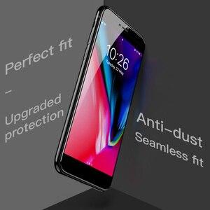 Image 3 - HOCO Apple iPhone 7 8 artı 3D temperli cam filmi 9H ekran koruyucu koruyucu tam kapak için dokunmatik ekran koruyucu