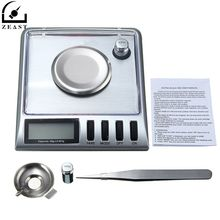 Digital Pocke t Scale 20g 0.001g Electronic Stainless Steel Jewelry Gram g/o z/o zt/dwt/ct/gn with Salver Tweezer Weight(China)