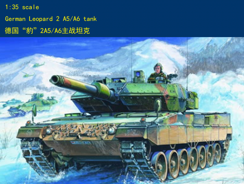 Hobbyboss 82402 1/35 German Leopard 2 A5/A6 Tank Model