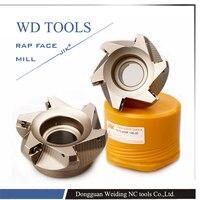 Inserto APMT1135 RAP 300R 50-22-4T 75 DEGREE Positivo Face Mill Cabezal CNC Milling Cutter, carburo de fresado shell molino de cara inserte