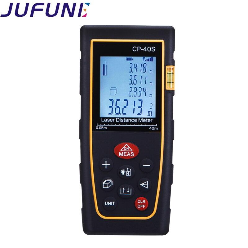 """""""Jufune CP-40S 40M"""" skaitmeninio lazerio atstumo matuoklio - Matavimo prietaisai - Nuotrauka 4"""