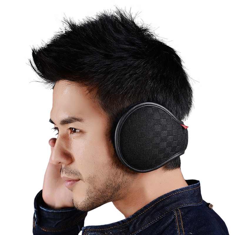 Warm Earmuffs Winter Earmuffs Wool Earmuffs Earmuffs Ear Warm Foldable Adjustment Cold-resistant-40 Degree Celsius
