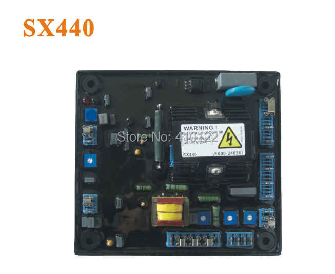 SX440 Automatic Voltage Regulator AVR For Generator Power Tool Parts free shipping 2pcs lots generator avr sx440 automatic voltage regulator sx440