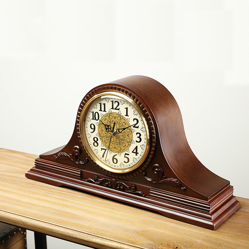 1 pièces horloge américaine salon ordinateur de bureau créatif pendule horloge rétro européenne horloge LU614130