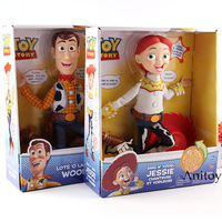 Talking Woody and Jessie Toy Story Figure Action PVC Collection Model Kids Toys for Children Doll