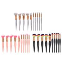 10pcs Set Makeup Brushes Small Belly Beauty Powder Eyeshadow Brush Cosmetic Foundation Makeup Brushes Set Blending