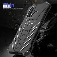 Batman Metal Protector Hollow Out Cool Case for Huawei P9 P10 P20 P30 Pro Plus Lite Shockproof Armor Cover for Huawei Nova 3E 4E