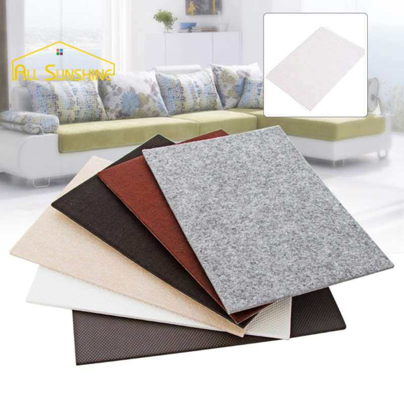 210x300mm Table Leg Pads Protectors Adhesive Furniture Feet Non Slip Rug Felt Anti Mat