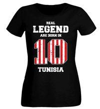 26f39d04a94 Tunesien Damen 10 T-Shirt Women S Footballer Soccers 2018 Legend Women  Designer Clothes O-Neck Style Hip-Hop Tops Tees Shirts