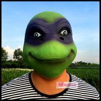 Teenage mutant ninja turtles tartaruga occhio maschera copricapo attività di Halloween festa di compleanno parodia giocare gita