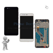 5.2 ''pe łna wyświetlacz LCD + ekran dotykowy Digitizer montaż + osłona ramy dla Huawei P10 lite WAS-L22J/LX2J/ LX1A/LX1/LX2/LX3/L03T