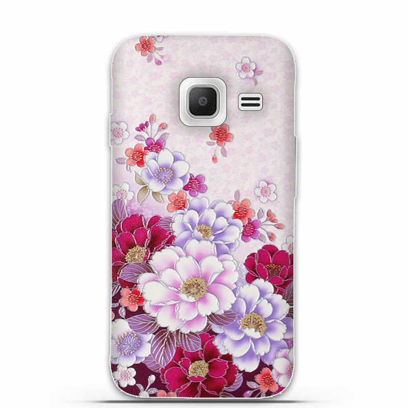 Caso para Samsung Galaxy J1 Mini J105 J105H SM-J105H J105F SM-J105 3D de silicona suave cubierta posterior para Samsung J1 Nxt duo teléfono casos