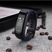 Smart Wristband Band Heart Rate Blood Pressure Bracelets Fitness Tracker SIM Call Remind Push Message Reveal For iphone Android