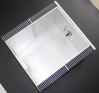 YA33 Volledige aluminium versterker chassis/Klasse Een versterker/AMP Behuizing/case/DIY doos
