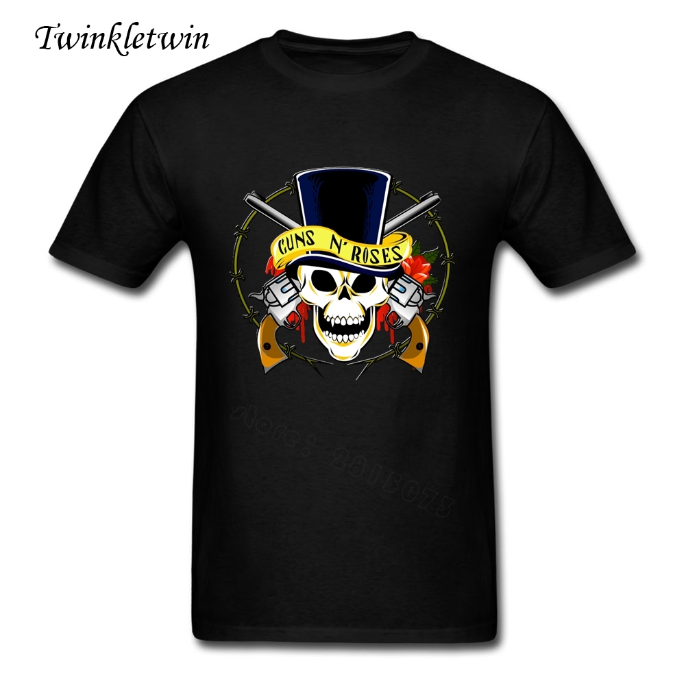Band short sleeve rock t shirt guns n roses t shirt men for Group t shirts cheap