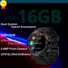 New fashion watch Zeblaze Dual System Hybrid Smartwatch 1.39 AOMLED round Screen 454*454 2GB+16GB 8.0MP Front Camera Smart