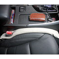 4 Colors Car Seat Cover Gap pad Luxury Universal Car PU Leather Filler Holster Auto Seat Pad Gap Spacer Filler Padding Leakproof