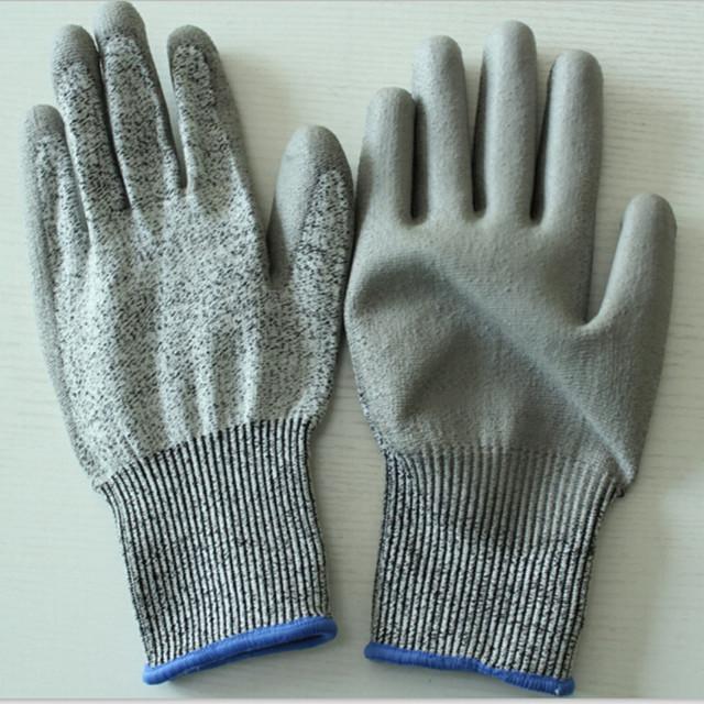 -Resistente ao desgaste luvas de trabalho para o trabalhador anti-corte luvas de segurança de trabalho de alta qualidade mecânica de metal anti-estática luvas