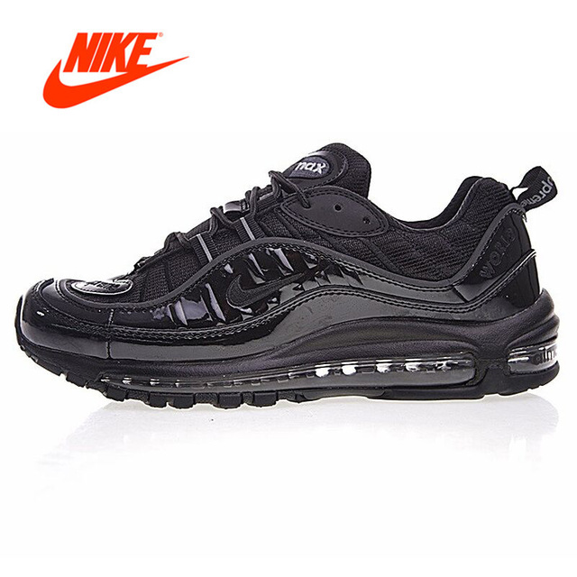 reputable site cc599 e8fbf Original New Arrival Authentic Supreme x NikeLab Air Max 98 Men s  Comfortable Running Shoes Sneakers 844694-001