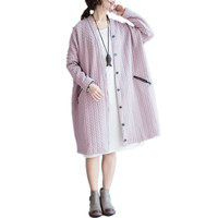 2017 Autumn Pregnancy Long Cardigans Maternity Knit Cardigan Sweaters Coat Oversize Outwear For Pregnanct Woman
