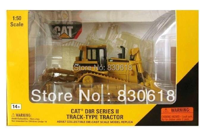 Norscot 1:50 échelle moulé sous pression Caterpillar CAT D8R tracteur métal modèle 55099 véhicules de chantier jouet