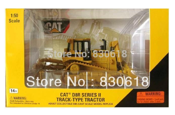 Norscot 1:50 scale diecast Caterpillar CAT D8R Tractor metal model 55099 Construction vehicles toy