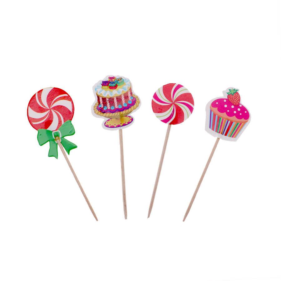 24 Pcs/emoji tema Bolo topper com sobremesa bolo de Decoração do bolo Para O Casamento da festa de Aniversário decorações do partido dos miúdos fornecedor