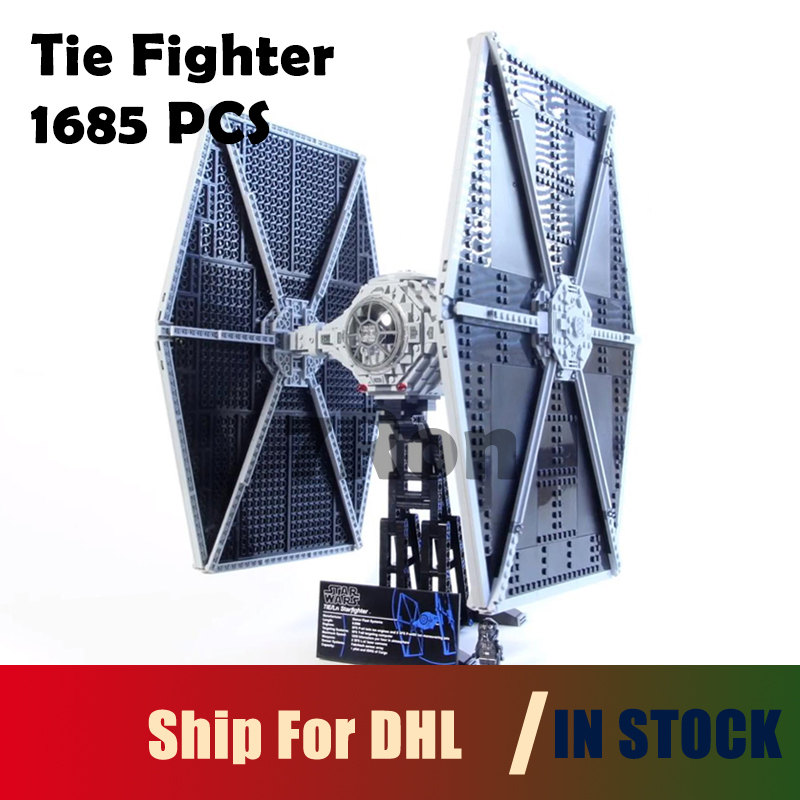 Compatible with lego 75095 Gift 1685pcs Star 05036 Series Wars Tie Fighter Model Building Toys hobbies Educational Blocks Bricks 2015 high quality spaceship building blocks compatible with lego star war ship fighter scale model bricks toys christmas gift