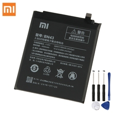 цена на XiaoMi Original Battery BN43 For Xiaomi Redmi Note 4X Snapdragon 625  Note4X 3G Standard configuration Battery 4000mAh
