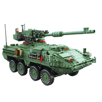 KY10001 Compatible Military Educational Building Block Brand new Display Model Toys for Boys