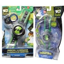 800951d8333 Ben 10 Final Relógio Omnitrix Estilo Japão Relógio Projetor BAN DAI Genuine Ben10  Relógios Brinquedos para Crianças dos miúdos D..