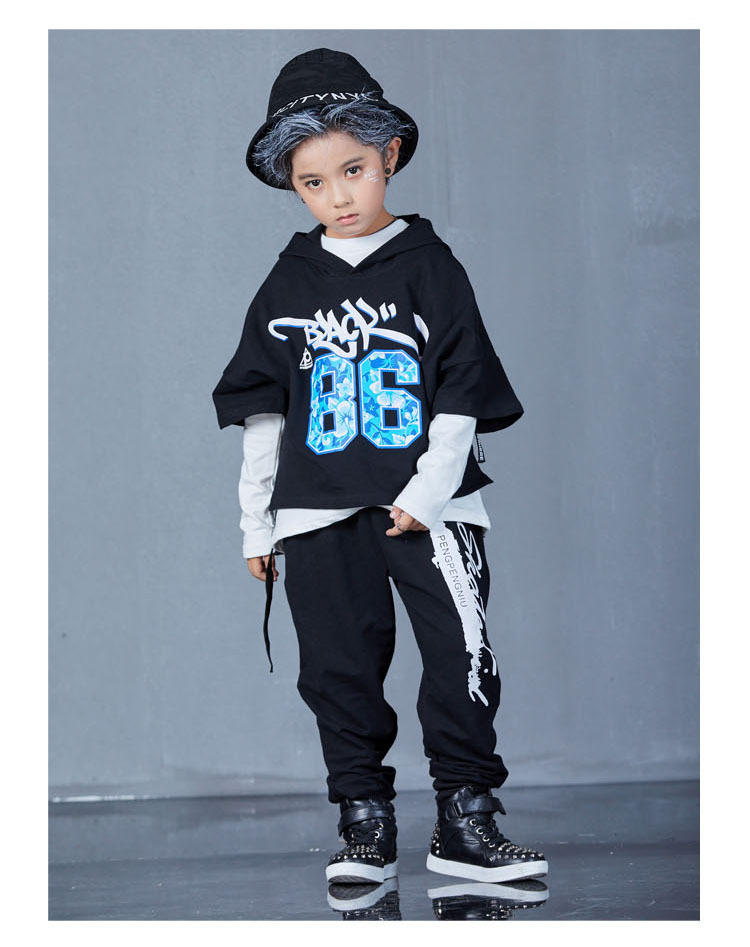 boys hip hop clothing set 1073-9
