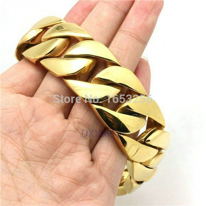 Heavy Mens Gold Bracelets Best