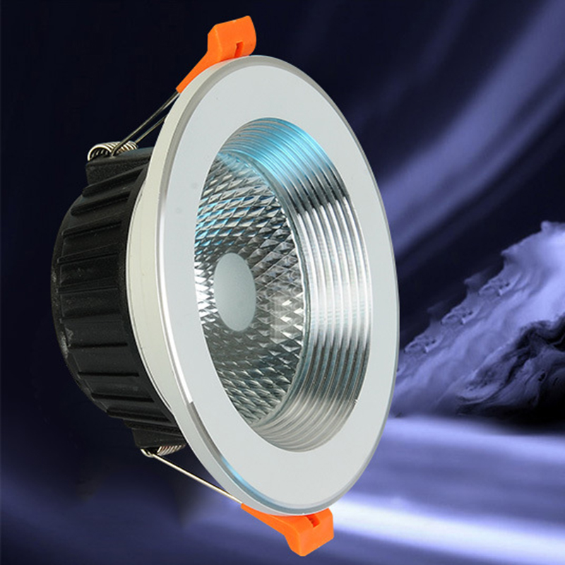 Dimmable LED Downlight 5W 7W 9W 12W 15W 18W 20W AC 85-265V COB LED DownLights Dimmable COB Spot Recessed Down light Light Bulb free shipping ultra bright gu10 dimmable 9w cree led cob spot down light bulb 85 265v