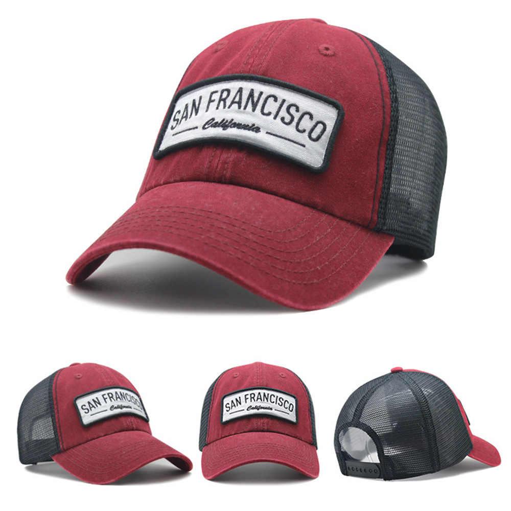 [AETRENDS] 5 ألوان قبعات سائقي الشاحنات للرجال النساء قبعة بيسبول شبكة غسلها قبعات Snapback قبعة العظام Gorras عادية Casquette Z-6881