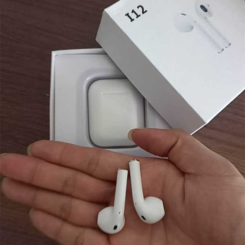 7f3650c695e ... Original i12 air TWS 1:1 Wireless Bluetooth 5.0 super mini bass stereo  ear buds ...