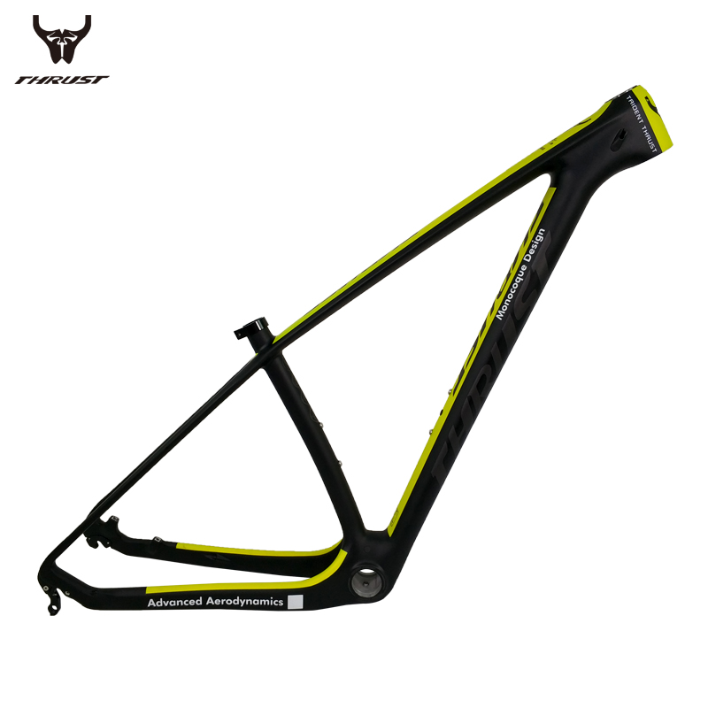 Carbon Frame mtb 29er Mountain Bike Bicycle Frame 15 17 19 inch Carbon Bike Frame 7 Color for Bicycle mtb mountain bike bicycle frame 26 x 17 inch al6069 for bike headset 44 55mm glossy
