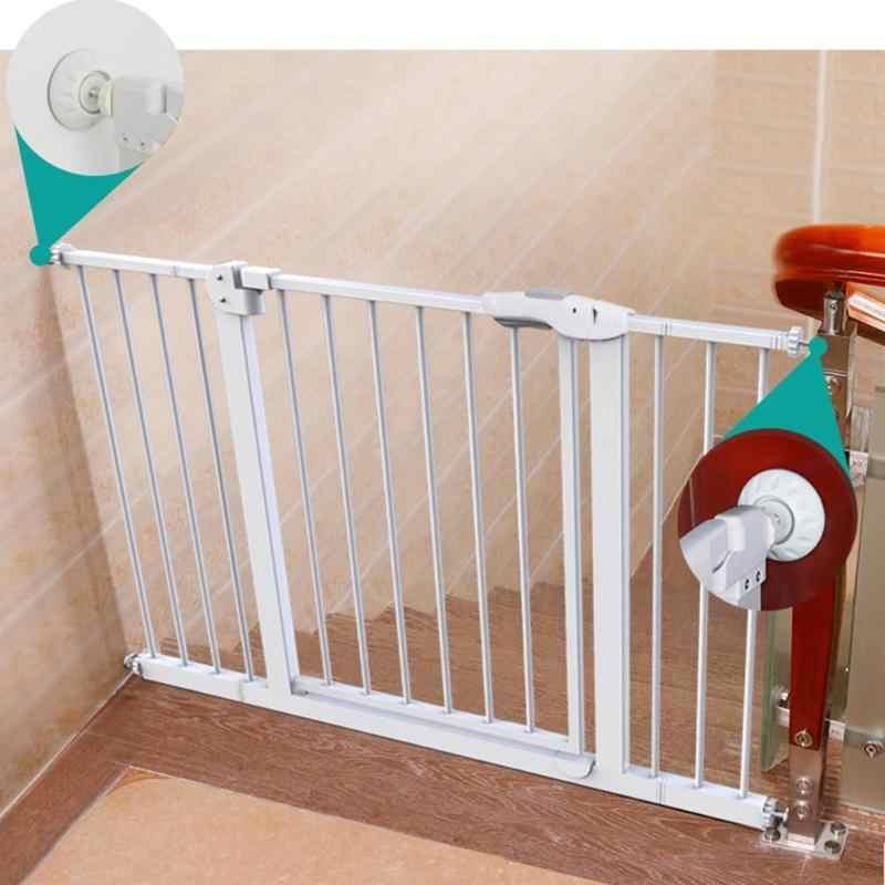 Cercas de seguridad para niños amortiguadores de puerta antideslizantes protectores de superficie de pared cerraduras de seguridad para niños cerradura de gabinete de protección para niños