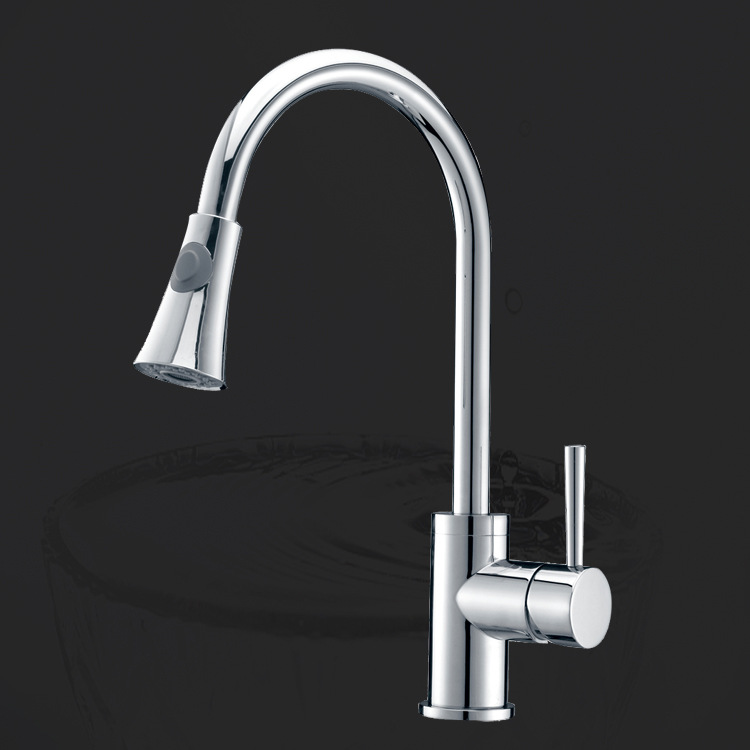 In high-end kitchen, new full bath kitchen faucet KITCHEN faucet copper faucet factory direct supply