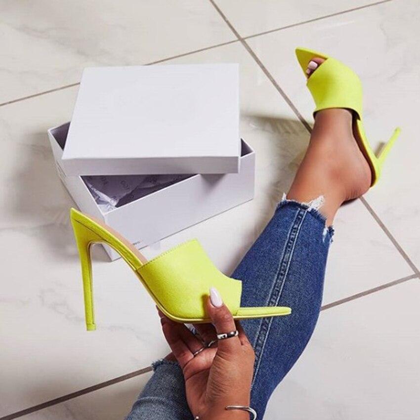 AIYKAZYSDL Women Pointed Toe Sandals