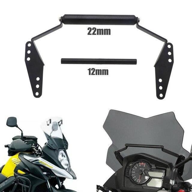 Fit Für SUZUKI V-Strom 650 V-Strom 650XT 2017-2019 Motorrad Zubehör Stehen Halter Telefon Mobile telefon GPS Platte Halterung