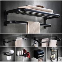 Пространство алюминия ванная комната аппаратных завесы Ванная комната американский набор махровых полотенец с черным