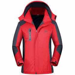 2018 Parka Men The North Winter Outdoor Tops Plus Velvet Thick Windproof Waterproof Military Coats Jackets Face Chaqueta Hombre