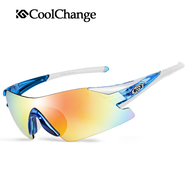 CoolChange Polarized Cycling Glasses Bike Bicycle Goggles Outdoor font b Sports b font Riding Glasses Windproof