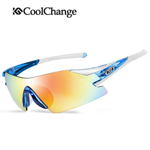 CoolChange Polarized Cycling Glasses Bike Bicycle Goggles Outdoor Sports Riding Glasses Windproof Dustproof Eyewear , 6 Colors