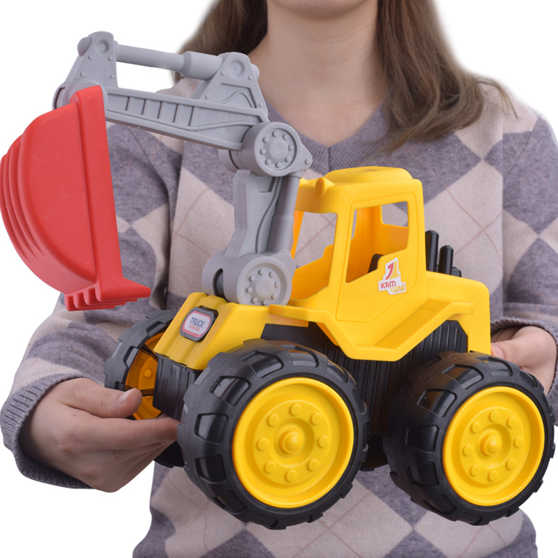 Capable Push Around Sand Truck Model Figure Beach Toy For Kids Toys & Hobbies