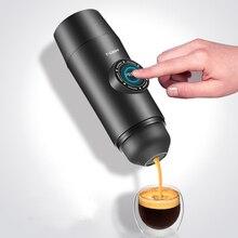 Портативный Электрический Кофе Mechine мини Nespresso кофеварка встроенный аккумулятор горячий/холодный Извлечение порошок и капсулы Открытый путешествия